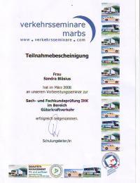 Sach- und Fachkundeprüfung IHK im Bereich Güterkraftverkehr